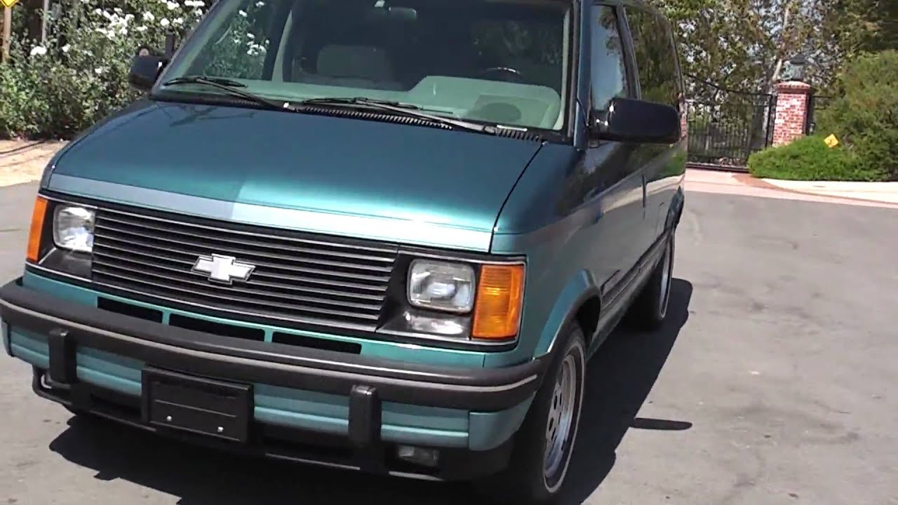 1994 astro ext van like new 1 owner 42 000 orig mies for sale [ 1280 x 720 Pixel ]
