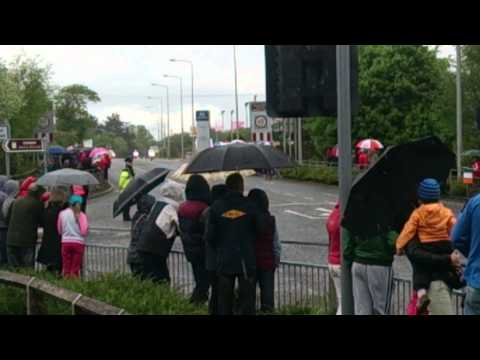 Giro D'Italia Cycling In Drogheda Ireland 11th May 2014