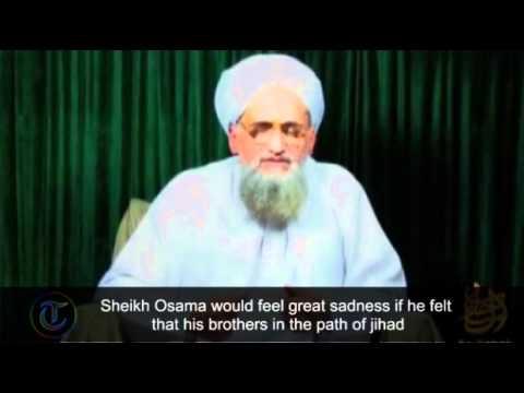 Al-Qaeda's Al-Zawahiri praises Osama bin Laden in new video message