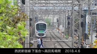 西武新宿線の30000系
