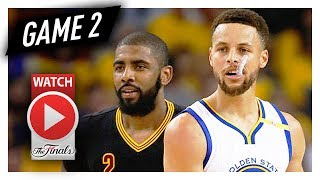 Stephen Curry vs Kyrie Irving Game 2 Duel Highlights (2017 Finals) Cavs vs Warriors - Steph OWNS IT!