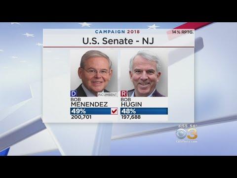 Midterm Elections: Sen. Bob Menendez Defeats Republican Bob Hugin In NJ Senate Race