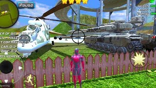 Amazing Strange Rope Police - Vice Spider Vegas Tank Battle Walkthrough Part 2 / Android Gameplay HD