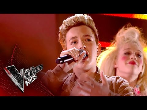 Riccardo performs 'Beauty And The Beast': Live Final | The Voice Kids UK 2017