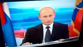 Поздравления В.В Путина нашей бабули и дедули с изумрудной свадьбой