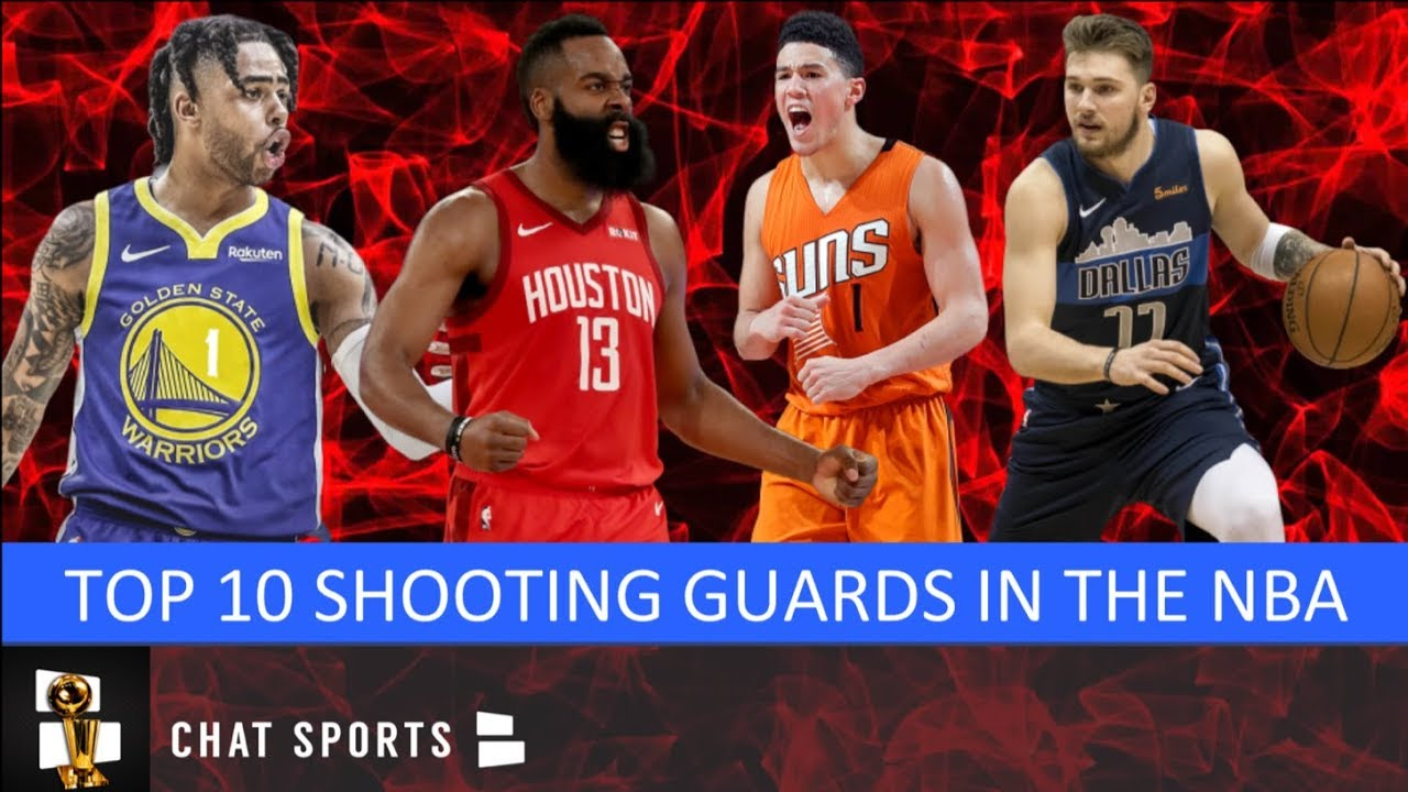 Top 10 Shooting Guards In The NBA For The 2019-20 Regular Season