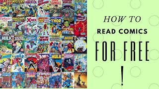 HOW TO READ COMICS ONLINE FOR FREE