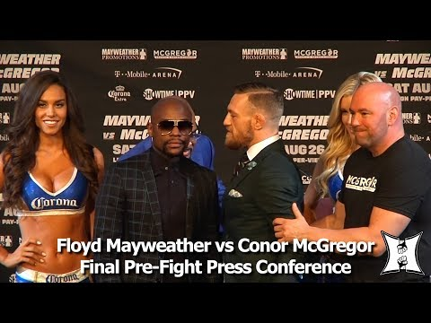 Floyd Mayweather vs Conor McGregor Final Pre-Fight Press Con