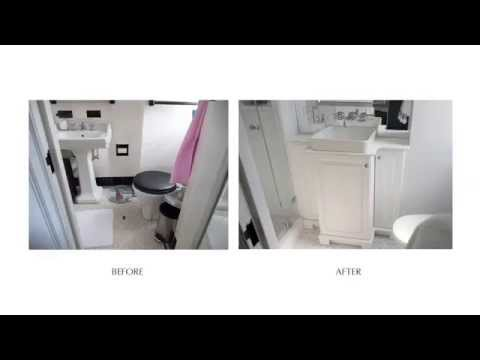 Amazing Bath Renovations Before & After - W 77th St. NYC