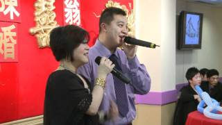 Karaoke at Sky Dragon Chinese Restaurant Toronto Wedding Video Photo Services