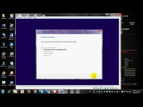 How to install Window 8 1