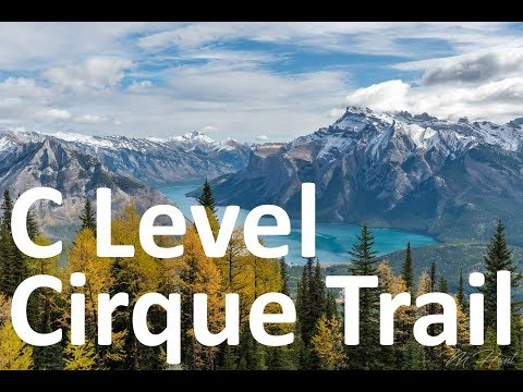 Hiking The C Level Cirque Trail in Banff National Park!