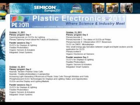 SEMICON Europa 2011 Programs Preview - WEBINAR.wmv