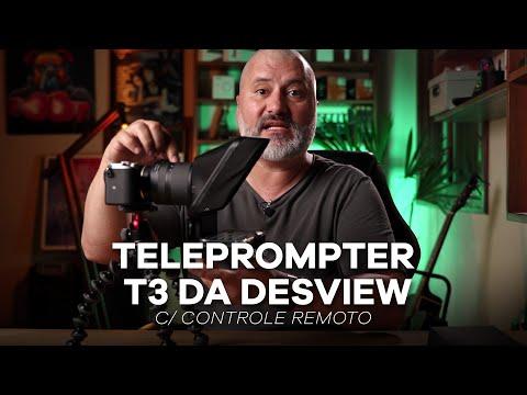 [Review] Conheça o Teleprompter T3 da Desview