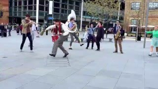 Seven Nation Army as played by street performers in London