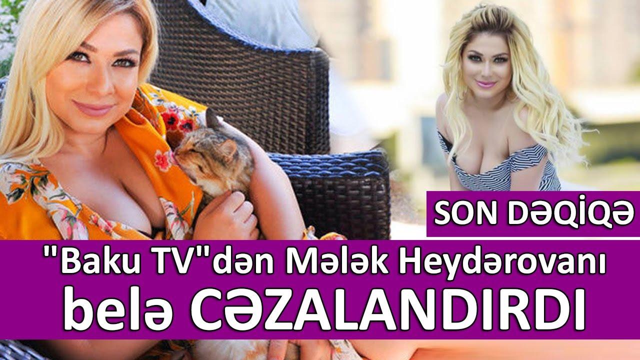 """""""Baku TV""""dən Mələk Heydərovanı belə CƏZALANDIRDI"""