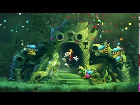 Rayman Legends,Реймен Легенда,Приключения в волшебном лесу2