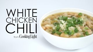 How To Make Fast White Chicken Chili | Myrecipes