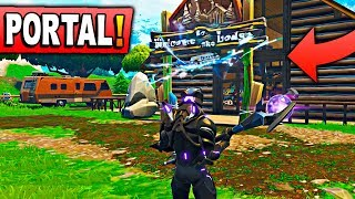 NEW SECRET PORTAL OF THE MISSILE! Fortnite: Battle Royale (NEW SEASON 5)