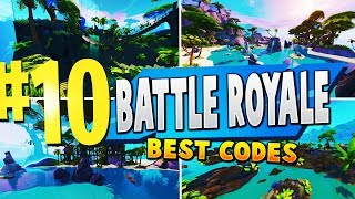 TOP 10 MOST FUN Battle Royale Creative Maps In Fortnite | Fortnite Battle Royale Map Codes