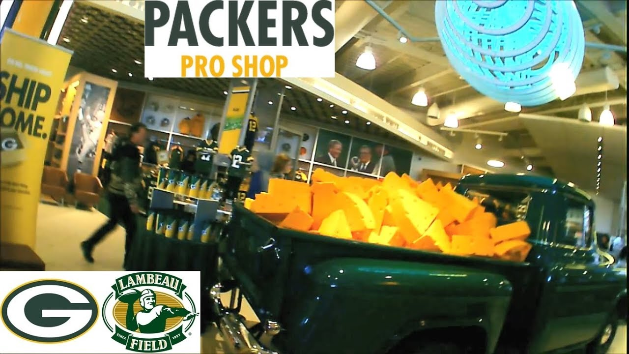 finest selection a867a d8cf6 Green Bay Packers Pro Shop Walkthrough