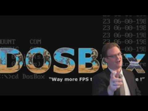 Better DOSBox Video Tutorial - Download, Install, Configure, Setup, For Use In DOS Games