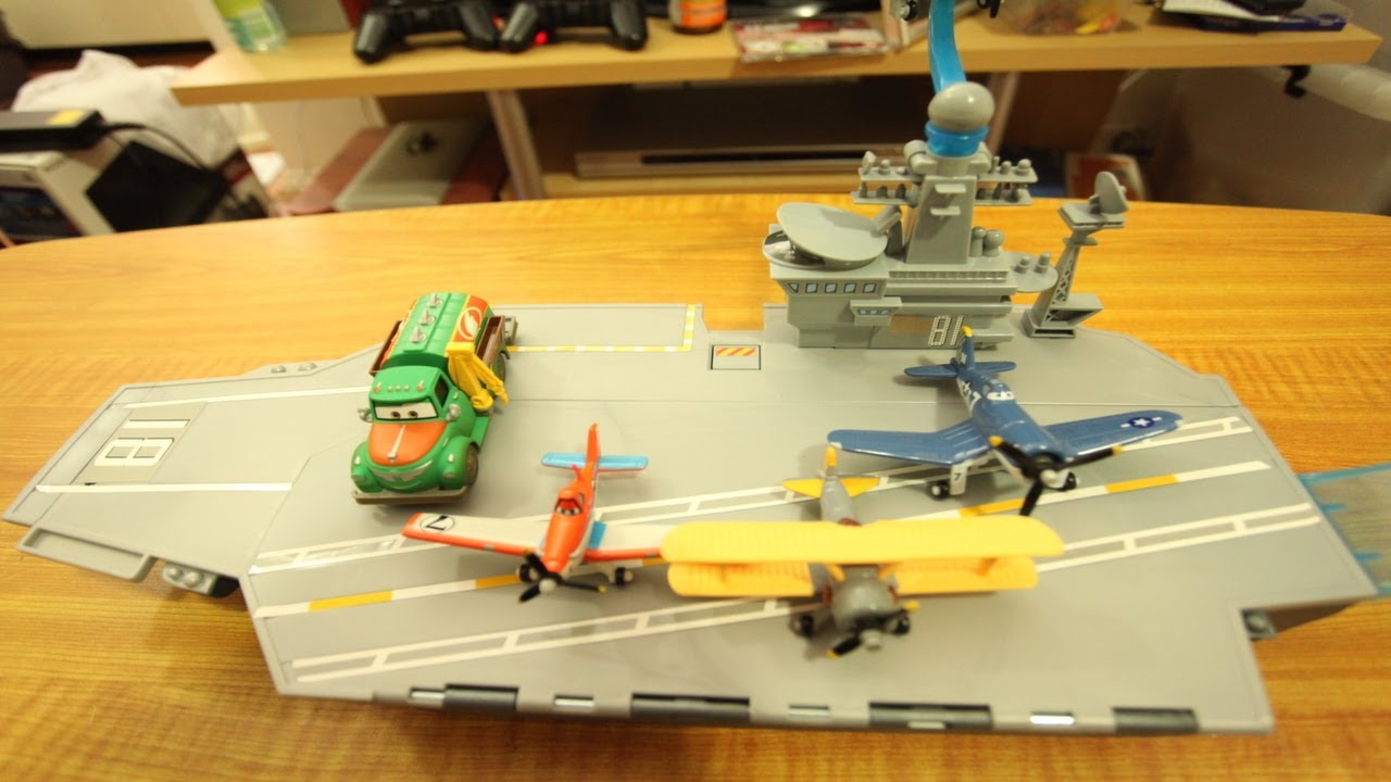 Disney Planes Toys Aircraft Carrier Playset At Toystop