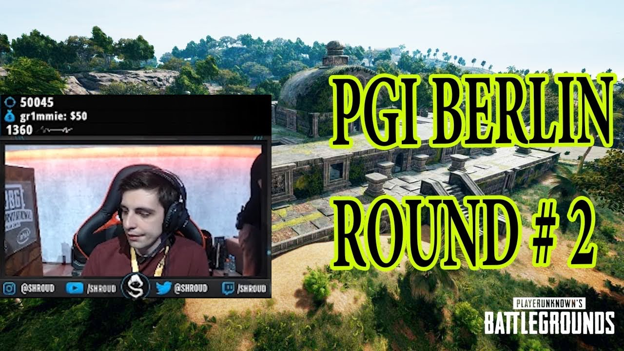 PUBG - PGI BERLIN CHARITY SHOWDOWN ROUND 2 (2018)