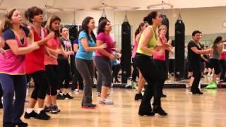 Repeat youtube video Marc Anthony - Vivir Mi Vida - Zumba Sandra