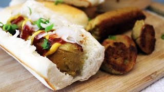 Vegan Hot Dogs // Scallion Seitan Sausages | Mary's Test Kitchen