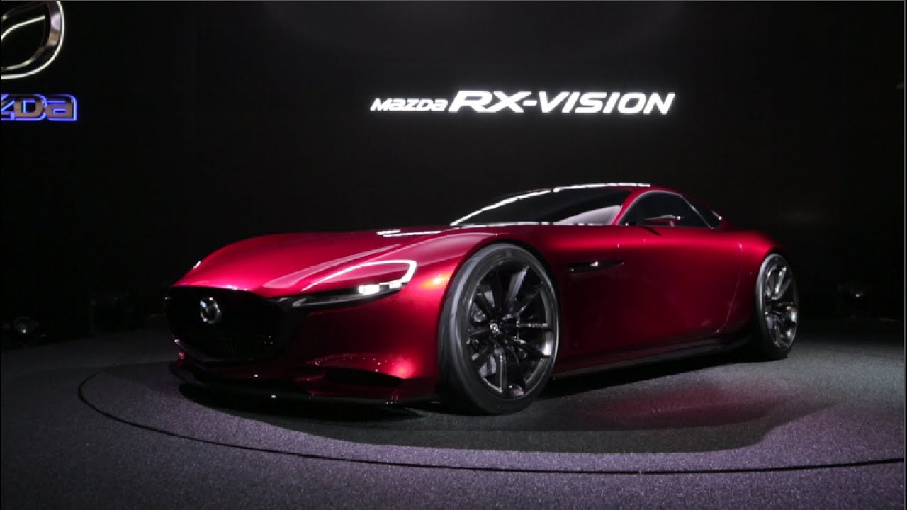 Mazda Rx Vision Concept 2017 Tokyo Motor Show