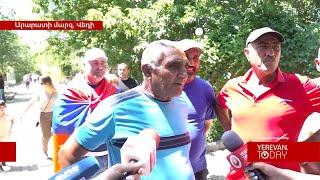 ֆեյք վեդեցիներ են Վեդիում դիմավորել Փաշինյանին․ Վեդու բնակիչ