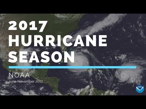 2017 Hurricane Season  Captured by NOAA GOESEast Satellite