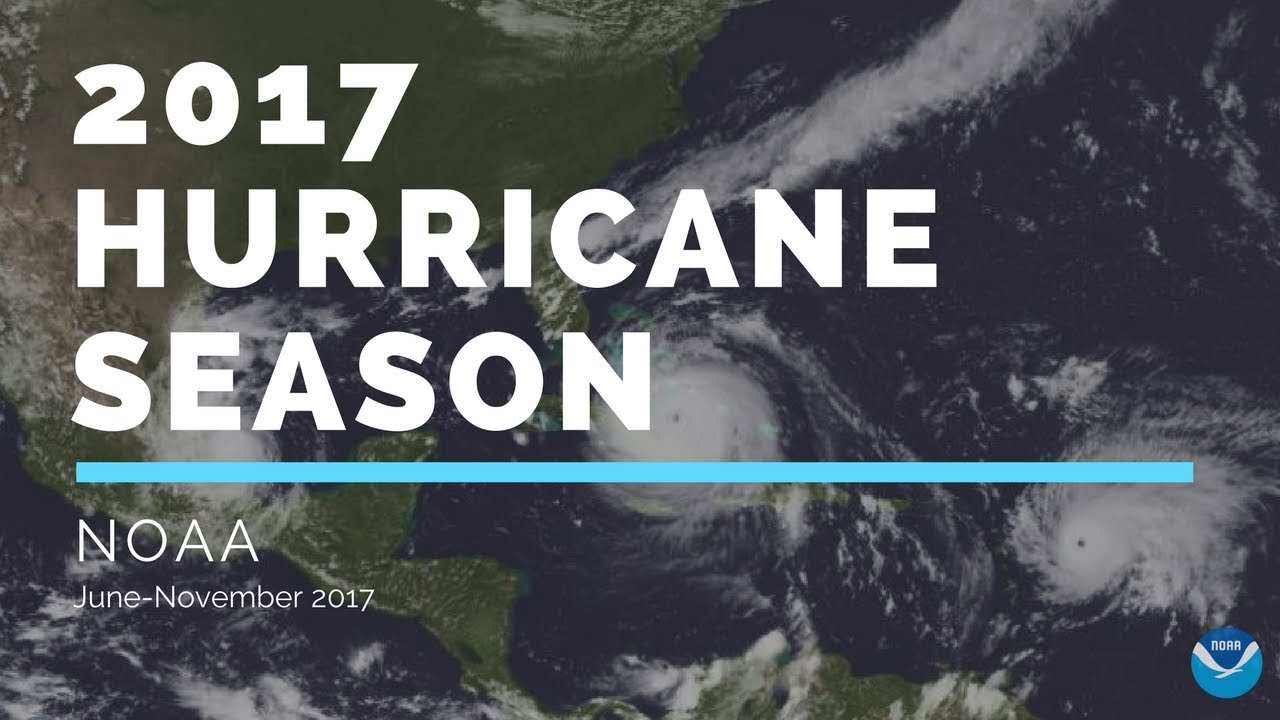 2017 Hurricane Season - Captured by NOAA GOES-East Satellite