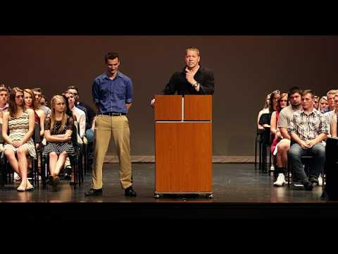 Gary Owen surprises a kid with a 4 year scholarship to college