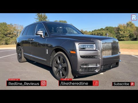 The 2019 Rolls Royce Cullinan is the SUV For Rich Ballers