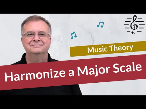 How to Harmonise a Major Scale - Quick Tip!