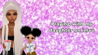 I FOUND MY DAUGHTER WITH A GROWN MAN / imvu gameplay