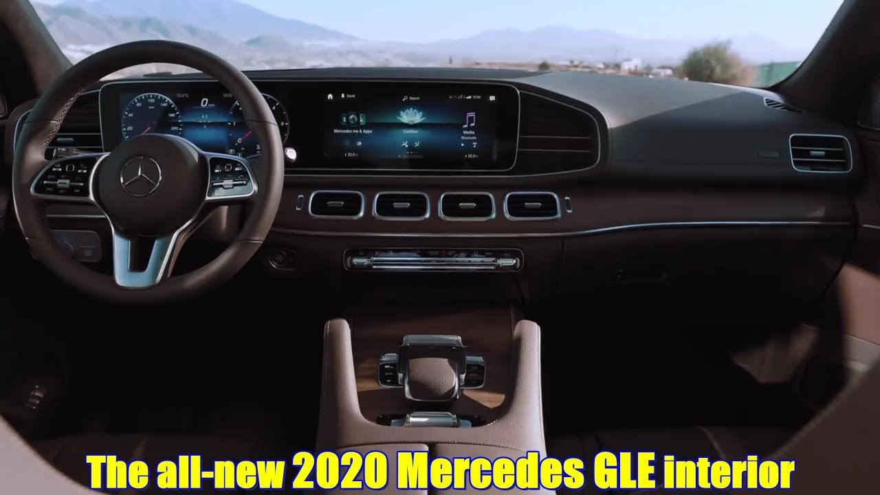 the all new 2020 mercedes gle interior youtube. Black Bedroom Furniture Sets. Home Design Ideas