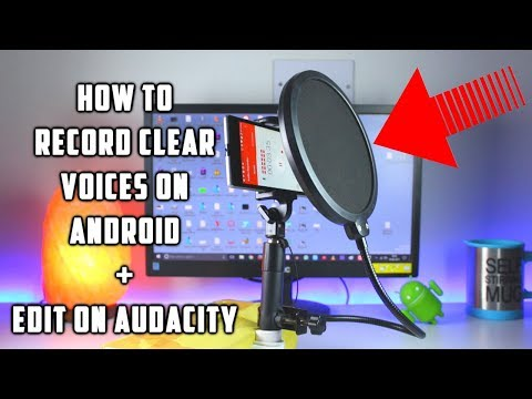 How to Record CLEAR Audio on Phone | How to Edit Audio in Audacity