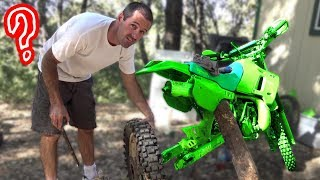 $200 Kawasaki Dirt Bike - Will It Go?