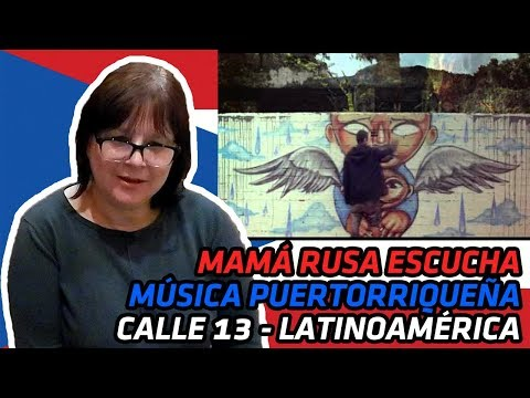 RUSSIANS REACT TO PUERTO RICAN MUSIC | Calle 13 - Latinoamérica | REACTION