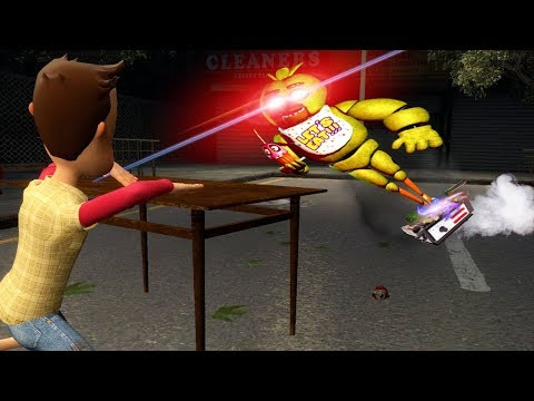 Best Friends use Traps to Capture a Five Nights at Freddy's Ghost in Garry's Mod (Gmod)