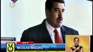 Nicolás Maduro llegó a Costa Rica para participar en la tercera Cumbre de la Celac