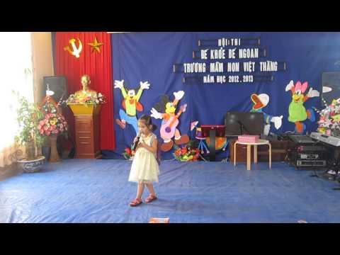 Mầm non Việt Thắng hội thi  bé khỏe bé ngoan ngày đầu tiên đi học