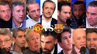 ASÍ VIVIMOS el Manchester United VS. Barça con EL CHIRINGUITO | IDA CUARTOS CHAMPIONS