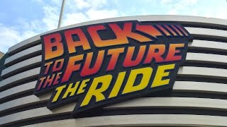 Back To The Future The Ride POV Universal Studios Japan Full Onride