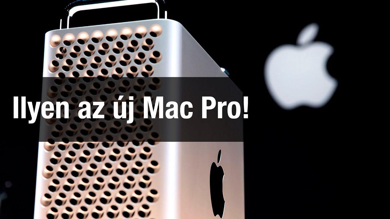 Ilyen az új Mac Pro!