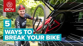 5 Ways You're Actually Destroying Your Bike And How To Avoid Doing Them