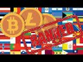 Top 4 Countries who Banned The Use Of Bitcoin And Other Cryptocurrency